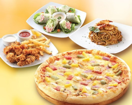 PizzaHut_Guilt-free options at Pizza Hut_photo