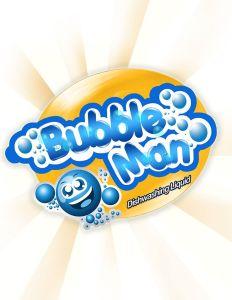 Bubble Man Logo