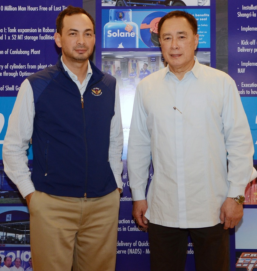 L-R: ISLA Petroleum and Gas (IPG) chairman of the executive committee Ricky Delgado, Jr. and chairman Ricky Delgado, Sr.
