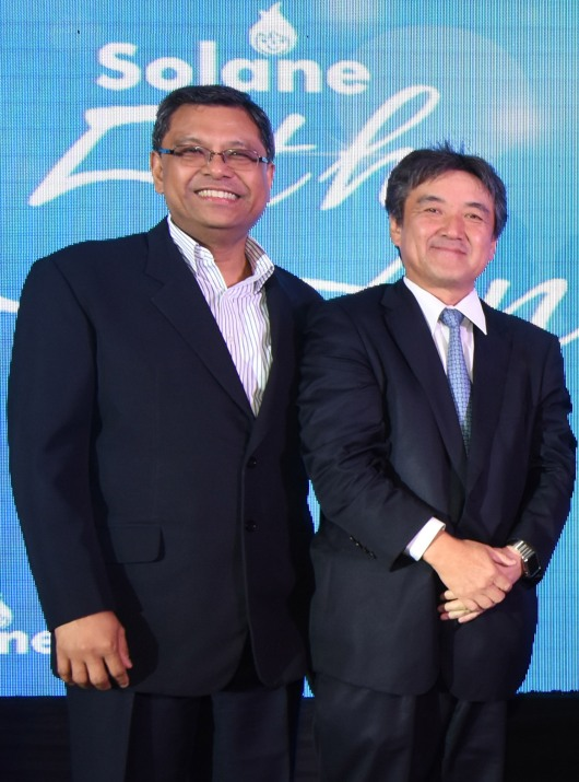L-R: ISLA LPG Corp. (ILC) CEO Ruben Domingo and IPG CEO Shoichi Watanabe