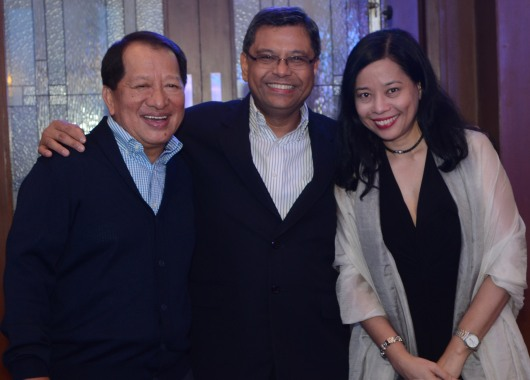 L-R: IPG board member Bobby Kanapi, ILC CEO Ruben Domingo, and executive assistant Vicky Araneta