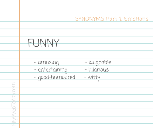 synonyms-part-1-emotions-funny