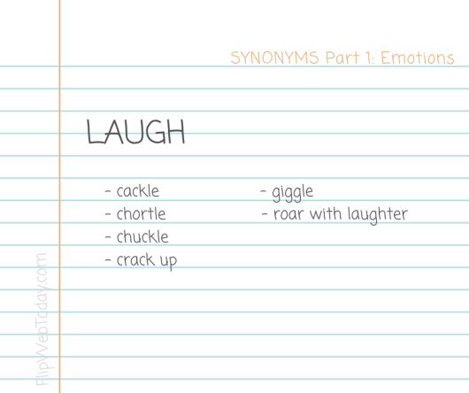 synonyms-part-1-emotions-laugh