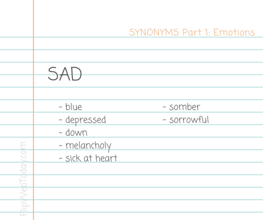synonyms-part-1-emotions-sad